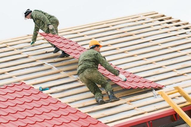 крыша под металлочерепицу