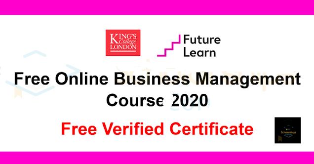 دورة مجانية في إدارة الأعمال عبر الإنترنت | شهادة مجانية | تسجيل الآن