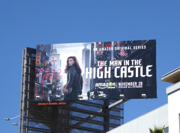The Man in the High Castle series billboard