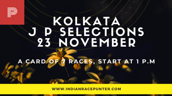 Kolkata Jackpot Selections 23 November
