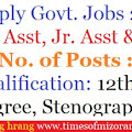 National Board of Examinations: Sr Asst, Jr Asst & Other – 90 Posts  12th Class, Degree