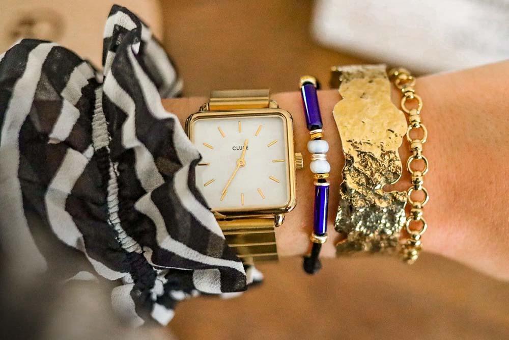 Bracelet de perles de Murano Ramsès II MV bracelet Michaël Vessiere