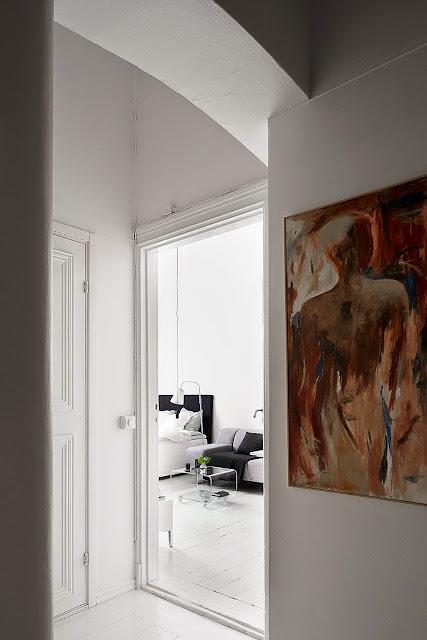 pequeno apartamento decorado, blog de decoração, achados de decoração