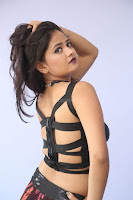 Shriya Vyas in a Tight Backless Sleeveless Crop top and Skirt 87.JPG