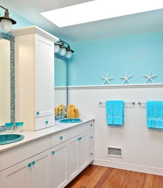 Blue Bathroom Ideas for Coastal Living