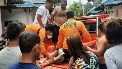 Sesosok Mayat Ditemukan di Pinggir Pantai Danau Toba