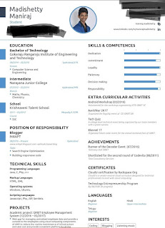 build an effective resume