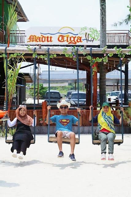 fasilitas di Pantai Madu Tiga Trikora Bintan