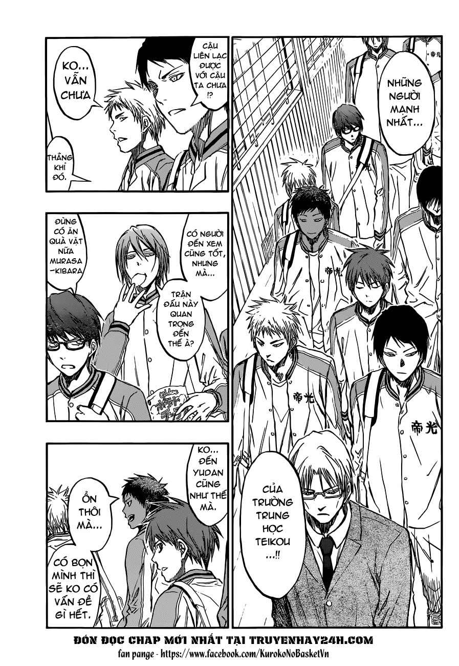 Kuroko No Basket chap 208 trang 3