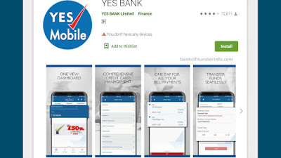 Install Yes Bank app