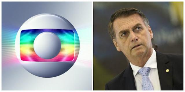 Globo perde 230 milhoes com Bolsonaro