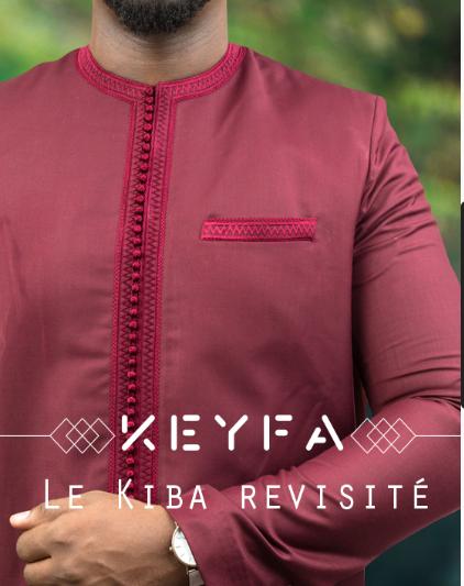 Keyfa le kiba revisite 100% senegalais : Mode, costume, kiba, design, fashion, boubou, africain, sénégalais, élégance, prestige, vêtement, LEUKSENEGAL, Dakar-Sénégal, Afrique