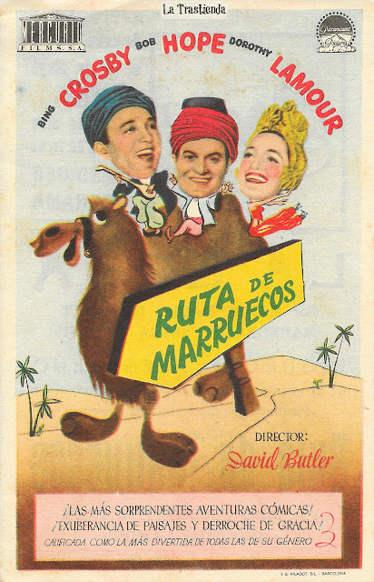 Ruta de Marruecos - Programa de Cine - Bing Crosby - Bob Hope - Dorothy Lamour