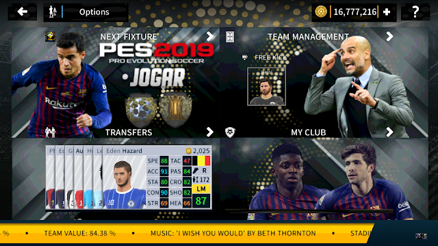 Dream League Soccer 2019 MOD PES 2019 Edition