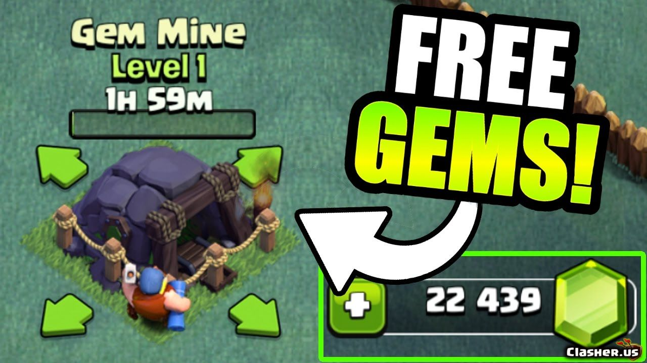 Claim Clash of Clans Unlimited Gems For Free! 100% Working [October 2020]