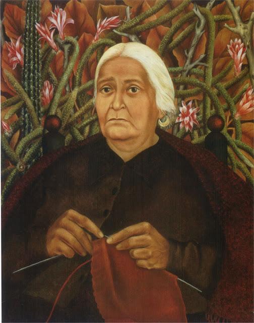 Фрида Кало - Портрет Доньи Розиты Морильо. 1944