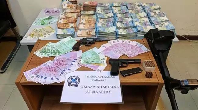 Εμπλοκή στην σκηνοθετημένη ληστεία των 4,2 εκατ. ευρώ στην Καβάλα