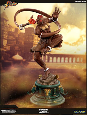 Dhalsim 1/4 Statue de Street Fighter V - Pop Culture Shock