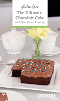 The Ultimate Chocolate Cake Recipe with Sour Cream Frosting