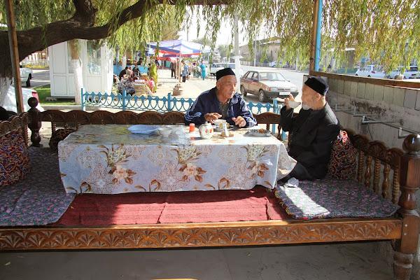 Ouzbékistan, Tachkent, Damarik, tapshan, tapchane, © L. Gigout, 2012