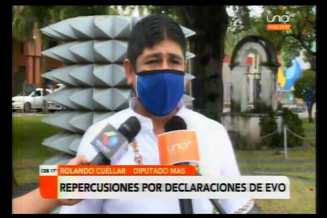 Cuellar dice que el MAS ganó sin Evo y tiene que descansar; tilda de traidores  a Adriana Salvatierra y Carlos Romero