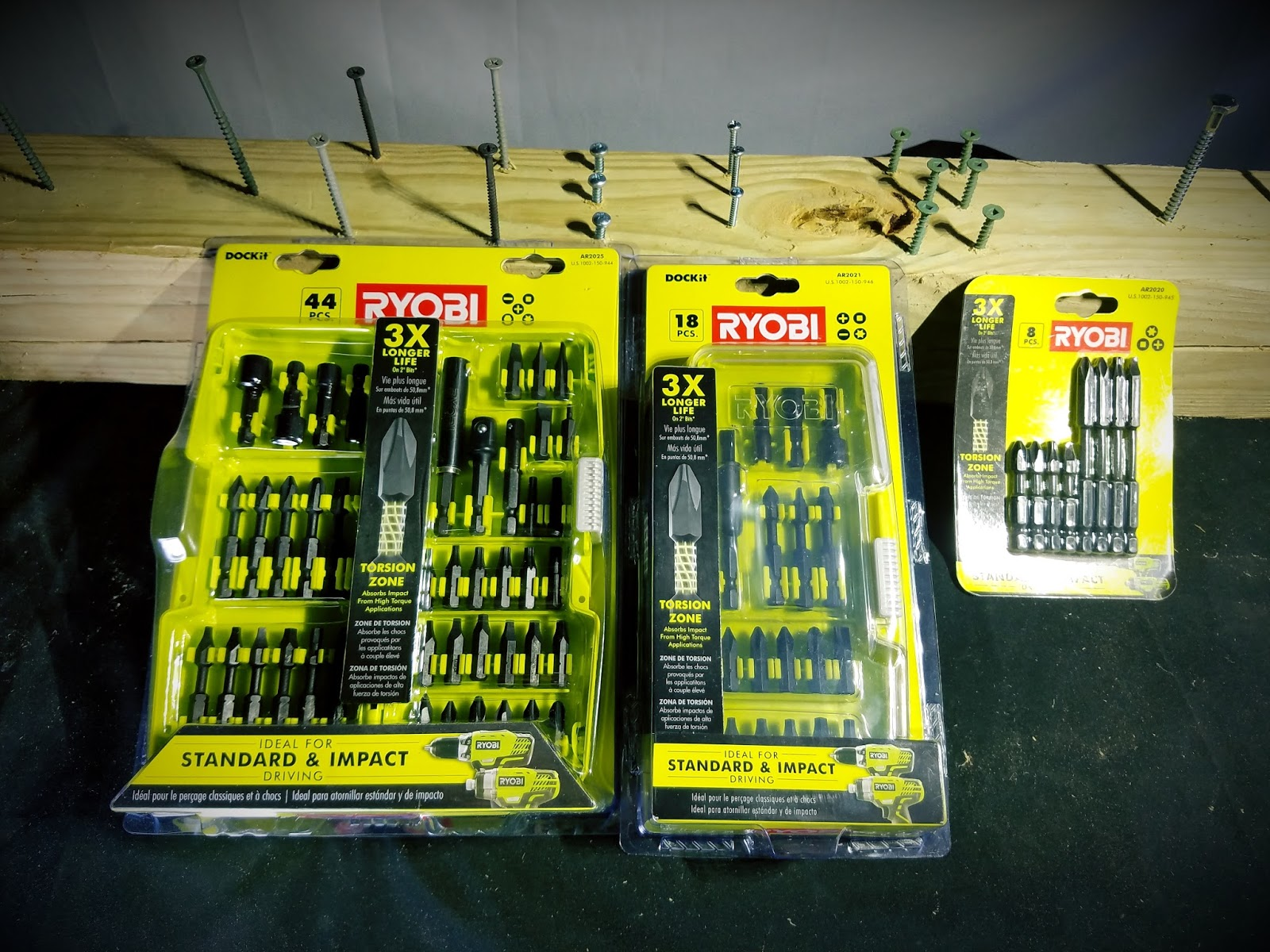 Tool Review Zone Ryobi Introduces Three New Impact Driver Bit Sets For An Affordable Price