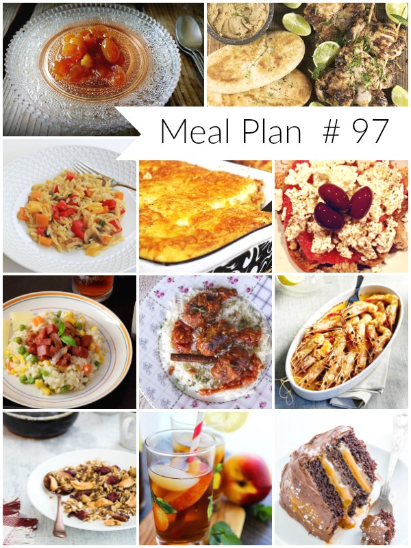 Weekly Meal Plan # 97 - Ioanna's Notebook