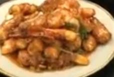 香港食譜影片網: 茄汁大蝦 ( 蘇絲黃)