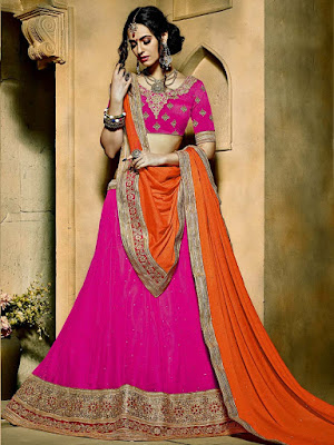 Designer-indian-lehenga-choli-dresses-designs-2017-for-women-5