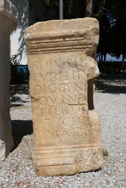 Μνημειώδης επιτύμβια στήλη βρέθηκε στο Πάριον