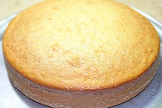 الكيكة المنفوخة