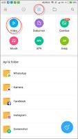 Menyembunyikan Video, Foto dan File di Xiaomi