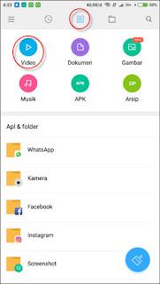 Cara Menyembunyikan Video, Foto Dan File di Xiaomi