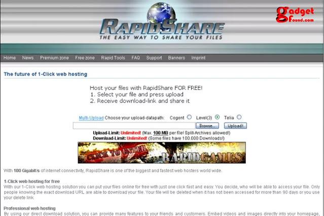 Rapidshare Downloads