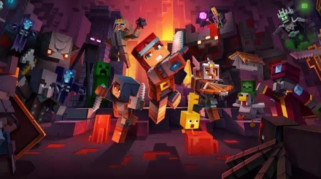 Cara Membuka Gerbang Creepy Crypt di Minecraft Dungeons