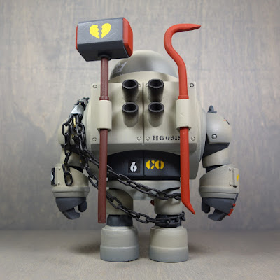 The Can Opener Resin Figure by Huck Gee