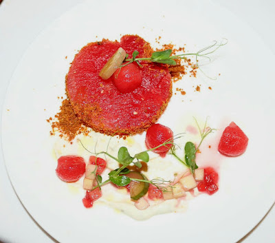 Fork Restaurant - Watermelon Salad