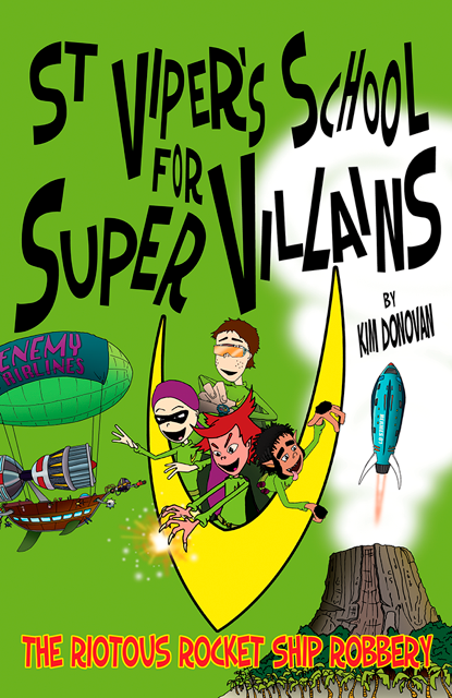 Author Interview Book Giveaway St Vipers School For Super