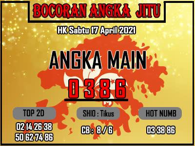 Bocoran HK 2D Sabtu 17 April 2021