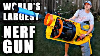 khẩu súng Nerf to nhất thế giới