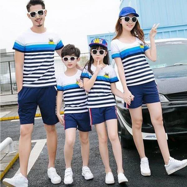 Áo đồng phục gia đình mẫu 4