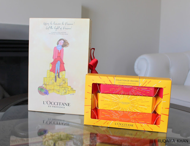 L'OCCITANE Holiday Sets - Advent Calendar and Crackers Collection Review