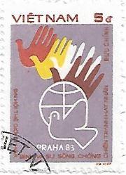 Selo Conferência Mundial da Paz