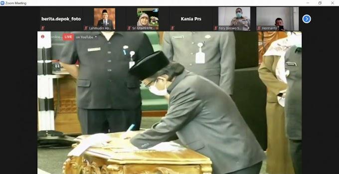 DPRD Depok Setujui Tiga Raperda