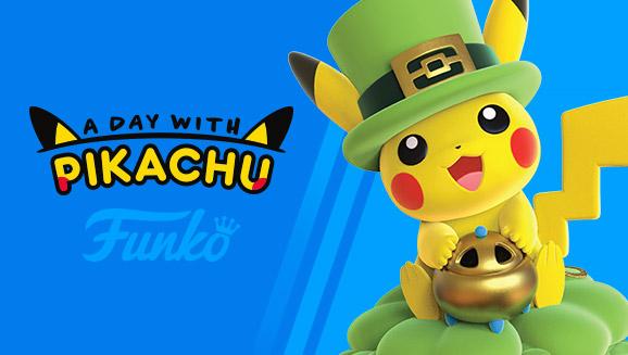 A coleção A Day With Pikachu ganha mais um Funko Pop!