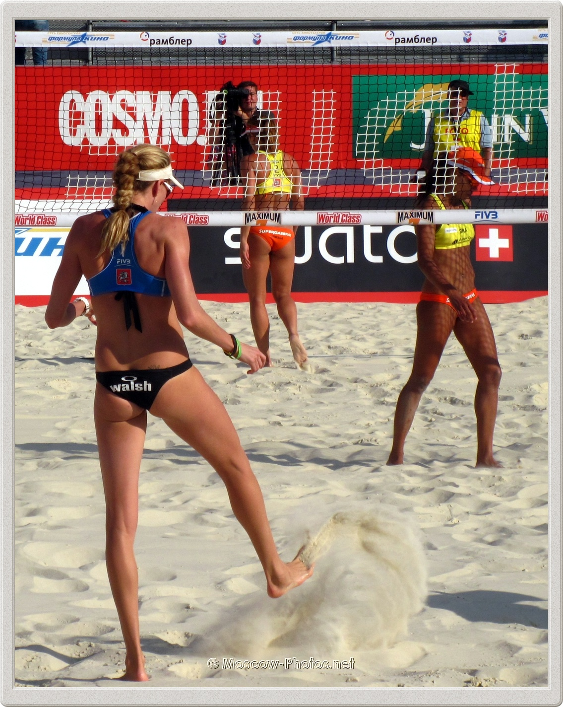 Kerri Walsh - there is too much sand!