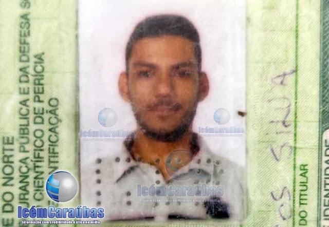 Jovem fica ferido após ser atingido por tiro em Caraúbas