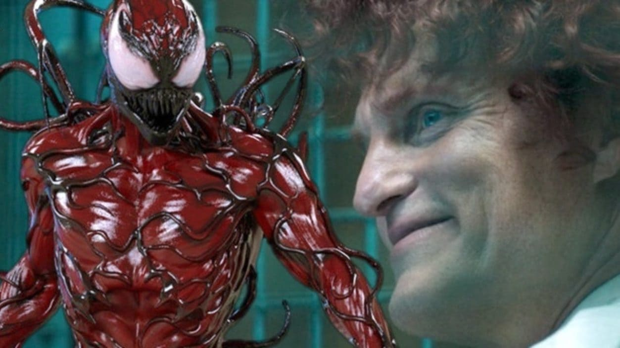 Venom 2  Woody Harrelson em vídeo dos bastidores