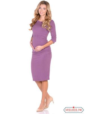 vestidos para embarazadas de bautizo