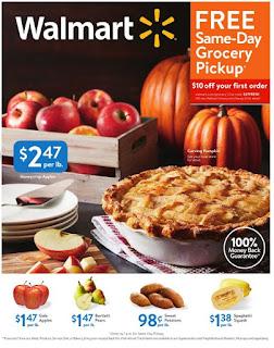 Walmart Weekly Ad October, 2018